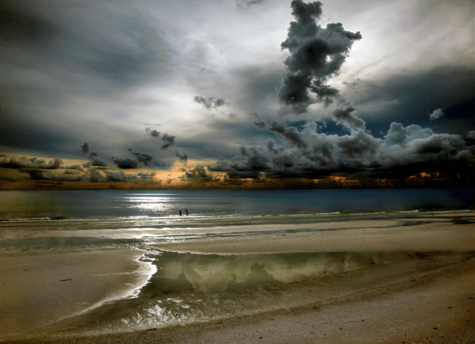 Marco Beach Sunset - Roy E. Rodriguez