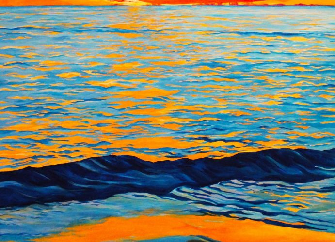 Caren Pearson- After Glow, Acrylic