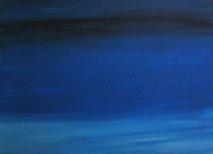 Imani Gibbs- Blue, Acrylic