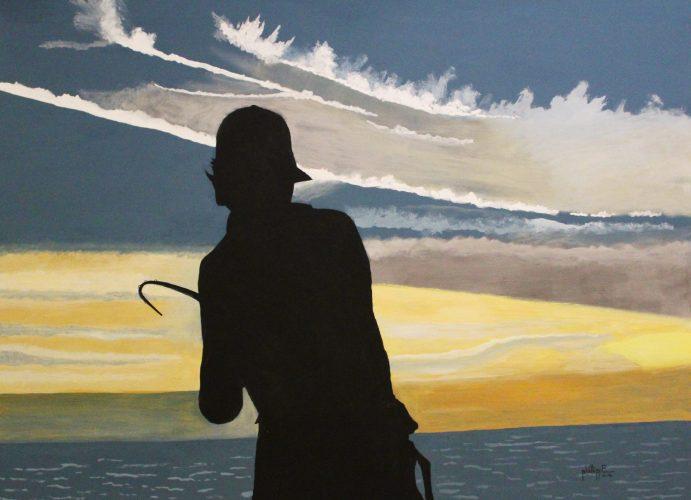 JT Phillippe- Sunset Play, Acrylic