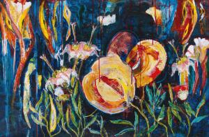 Florida Wildflower: Varnish Leaf by Toni Ferrell Sutton