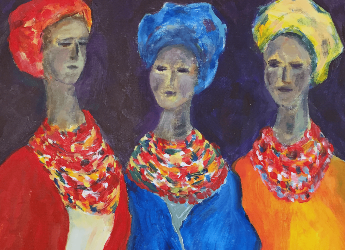 Dressed in Color by Vicki Baker