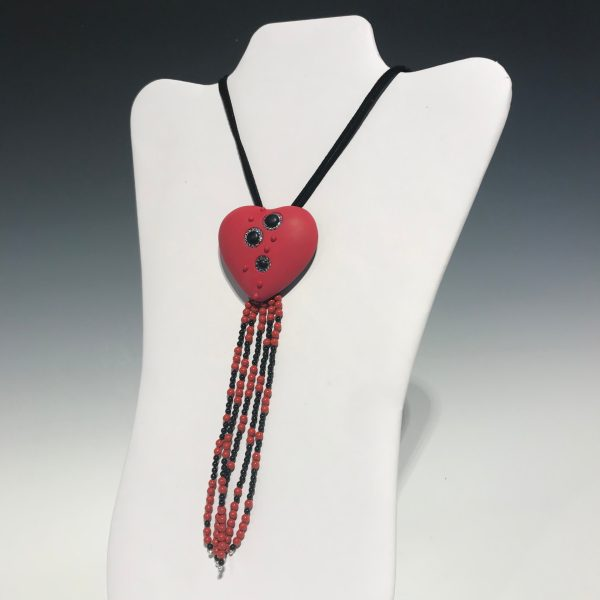 Heart with Tassels