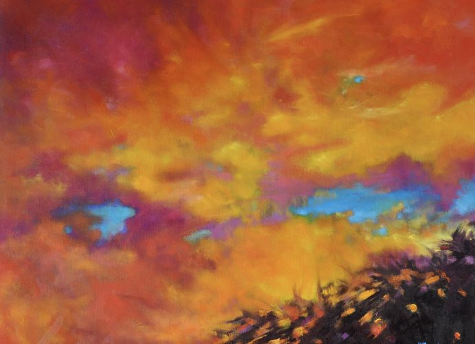 Ferriter - Gorgeous Summer Skies - Oil on Linen - 24x30_800