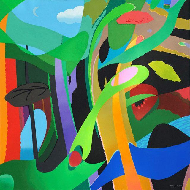 MacKechnie - Botany of Desire - Acrylic - 24x24_800