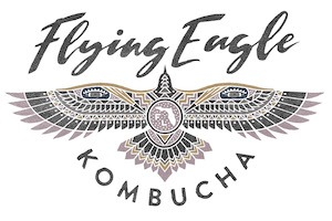 Flying Eagle Kombucha Logo